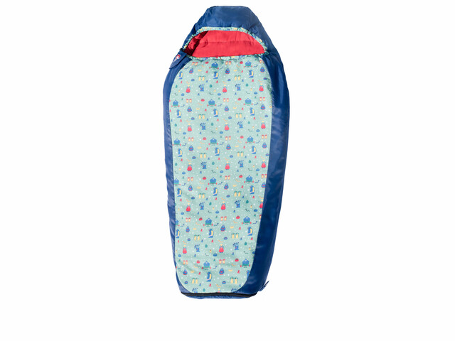 Grüezi-Bag Grow Funny Monster Sleeping Bag Kids Oxford Blue
